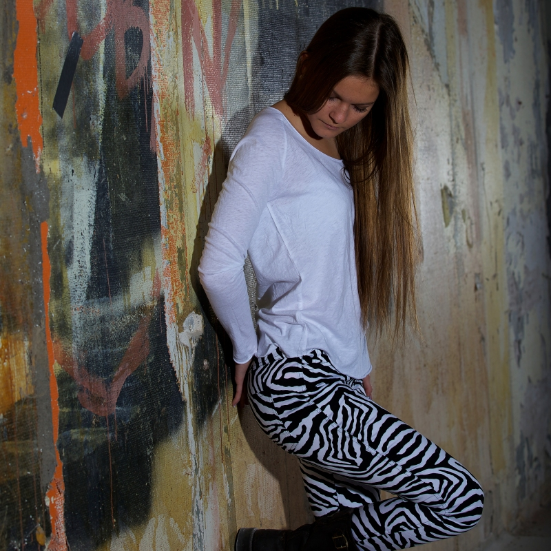 Byxa: Rut o Circle - Carrie Zebra Pant: 399:- Topp: American Vintage Tallahassee: 539:-